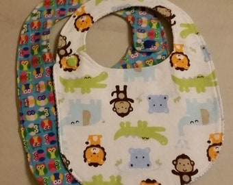 ON SALE: Toddler Bibs (set of 2)