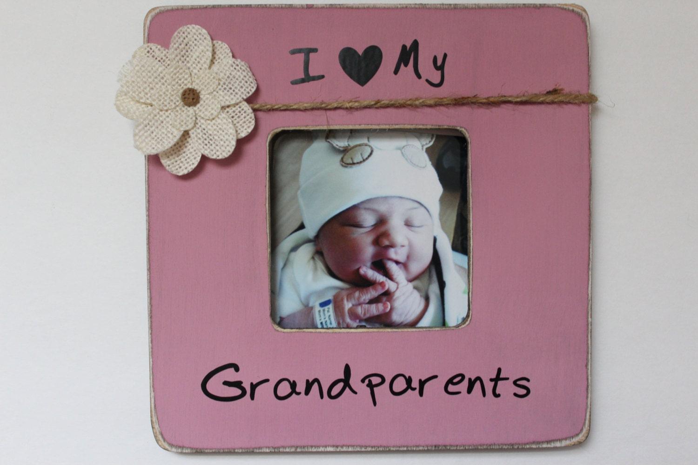 I Love My Grandparents Frame - Фото база