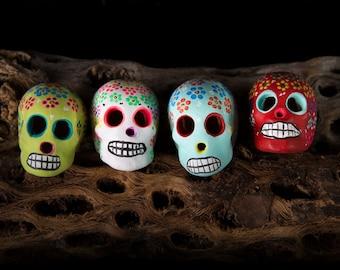 Mexican ceramic skull