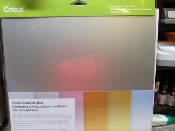 Cricut Poster Board Metallics & Poster Board Brights 6