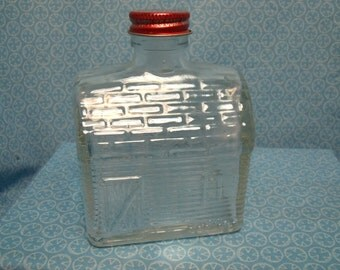 Old Log Cabin Syrup Bottle