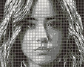 Daisy Johnson / Skye Cross Stitch Pattern