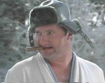 Vintage original Cousin Eddie hat // christmas vacation // movie costume hat // authentic mens funny flapper cap // adult medium