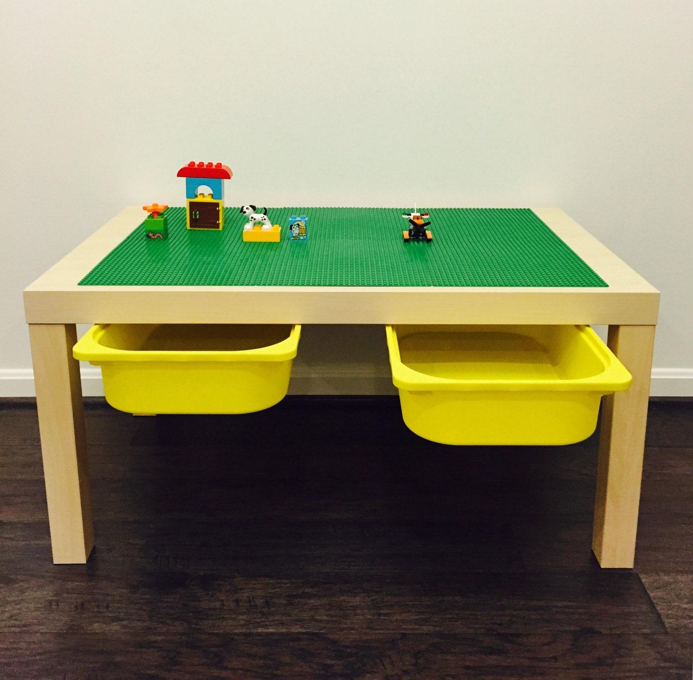 large lego table with storage. Black Bedroom Furniture Sets. Home Design Ideas