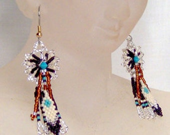 Dream Feather - Earrings Pattern