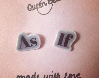 As If Earrings