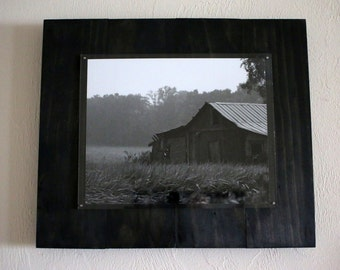 Black & White Old Barn Photograph - Wall Art - Fine Art - Home Decor