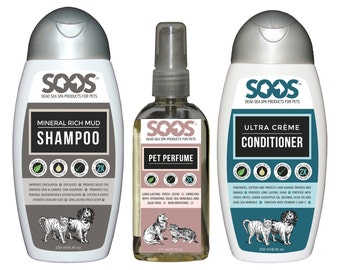 Soos Dead Sea Cat & Dog Pet Spa Bundle