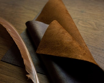 """11"""" X 17"""" Leather Calligraphy Writing Pad"""