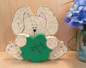Happy St Patrick's Day - Saint Patrick's Day Decor - Shamrock Decor - Saint Patrick's Day - Saint Patrick's Day Sign - Handmade St Patrick's