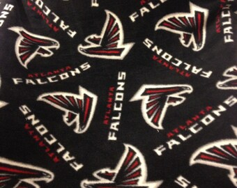 Made to order no sew Atlanta Falcons blanket