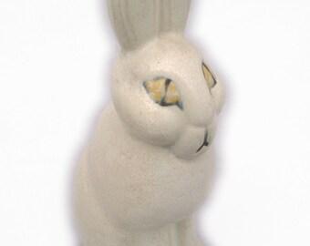 Lisa Larson Ceramic Figurine  - Hare - Gustavsberg, Sweden  SkansenSwedish Folk Art Pottery