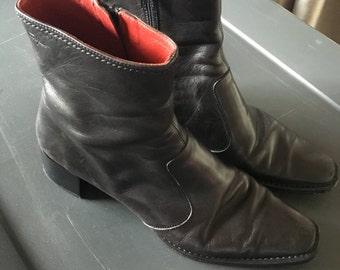 Ferragamo boots women's 8.5