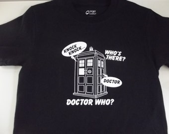 Doctor Who T-shirt All sizes and color 100% Cotton print