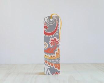 Bookmarks - set of 5 - arabesque - favor - thank you - birthday