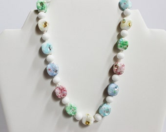 Multi-colored Vintage Necklace