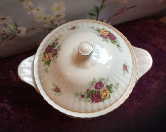 Chodziez Tureen Lidded Vegetable Serving Dish Vintage Retro