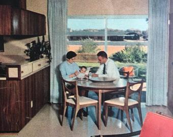 Lot of Vintage 1960s Magazine Home Decor Photos - Vintage Advertising - Vintage Ads - Vintage Magazine Advertising