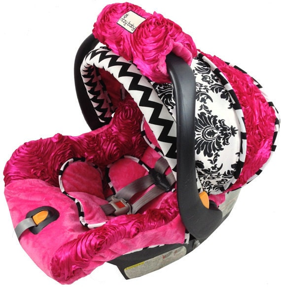 custom car seat covers 4 pc set baby car seat covers over. Black Bedroom Furniture Sets. Home Design Ideas