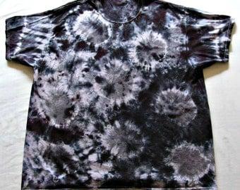 Tie Dye Shirt Sunburst Cotton