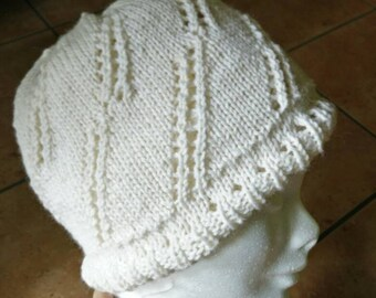 Reversible cashmere and silk hat-perfect gift