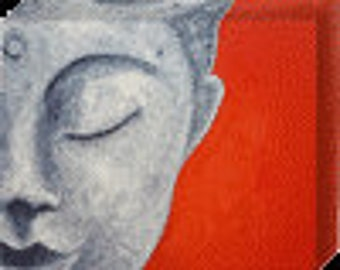 Buddha -  Mounted Print