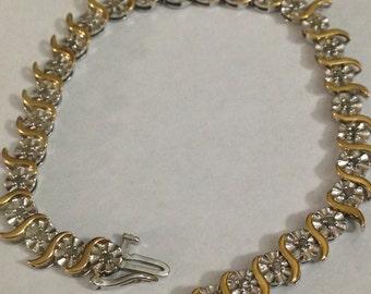 7 inch sterling silver bracelet