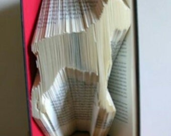 Boxer Dog Book Folding Pattern