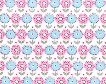 New Flower Design cotton fabric