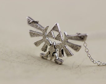 silver The Legend of Zelda jewelry Triforce necklace Metal Pendant gift Christmas gifts C107N