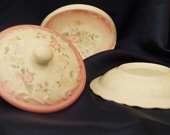 Pottery Floral Set