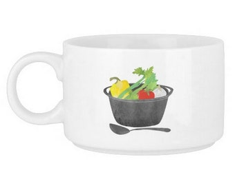 Soup Chili or Stew Spice Kit In Large Mug