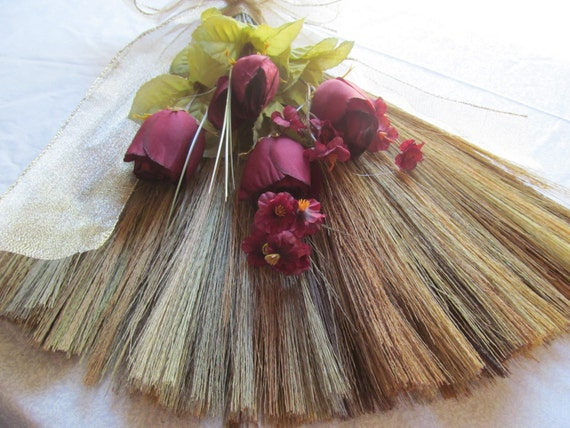 wedding jump broom sale decorated for jumping broom
