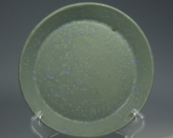 Robin's Egg Blue  Dessert Plate - Bread Plate - Ceramic - Stoneware - Ready to Ship