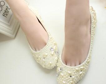 Stylish Womens Bling Bridal Shoes/Custom Shoes