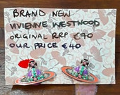Vivienne Westwood Orb Stud Earrings