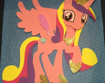 Princess Cadence FREE SHIPPING in USA My Little Pony Shadowbox