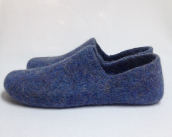 Summer collection-30%off Summer sale! Felted wool Woman Slippers house shoes felt clogs Gift for her