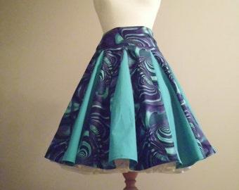 Fifties Inspired Full Skirt( Size 8)