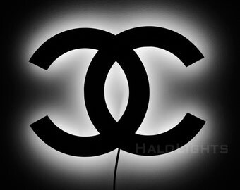 Chanel Logo Lamp - Chanel Logo Wall Light and Sign