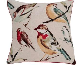 Spring Birds Cushion Cover