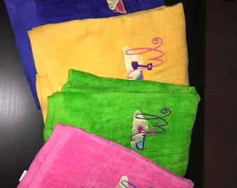Beach Monogrammed Beach Towel