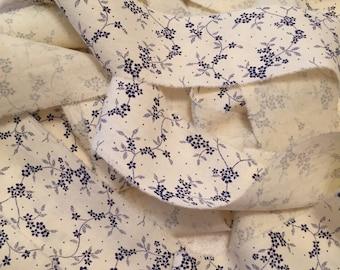 Hand Frayed Ribbon/Distressed Fabric Trim/Fabric Ribbon/Paris Inspired Trim/Shabby Ribbon/Handmade Fabric Trim/Cottage Chic Ribbon