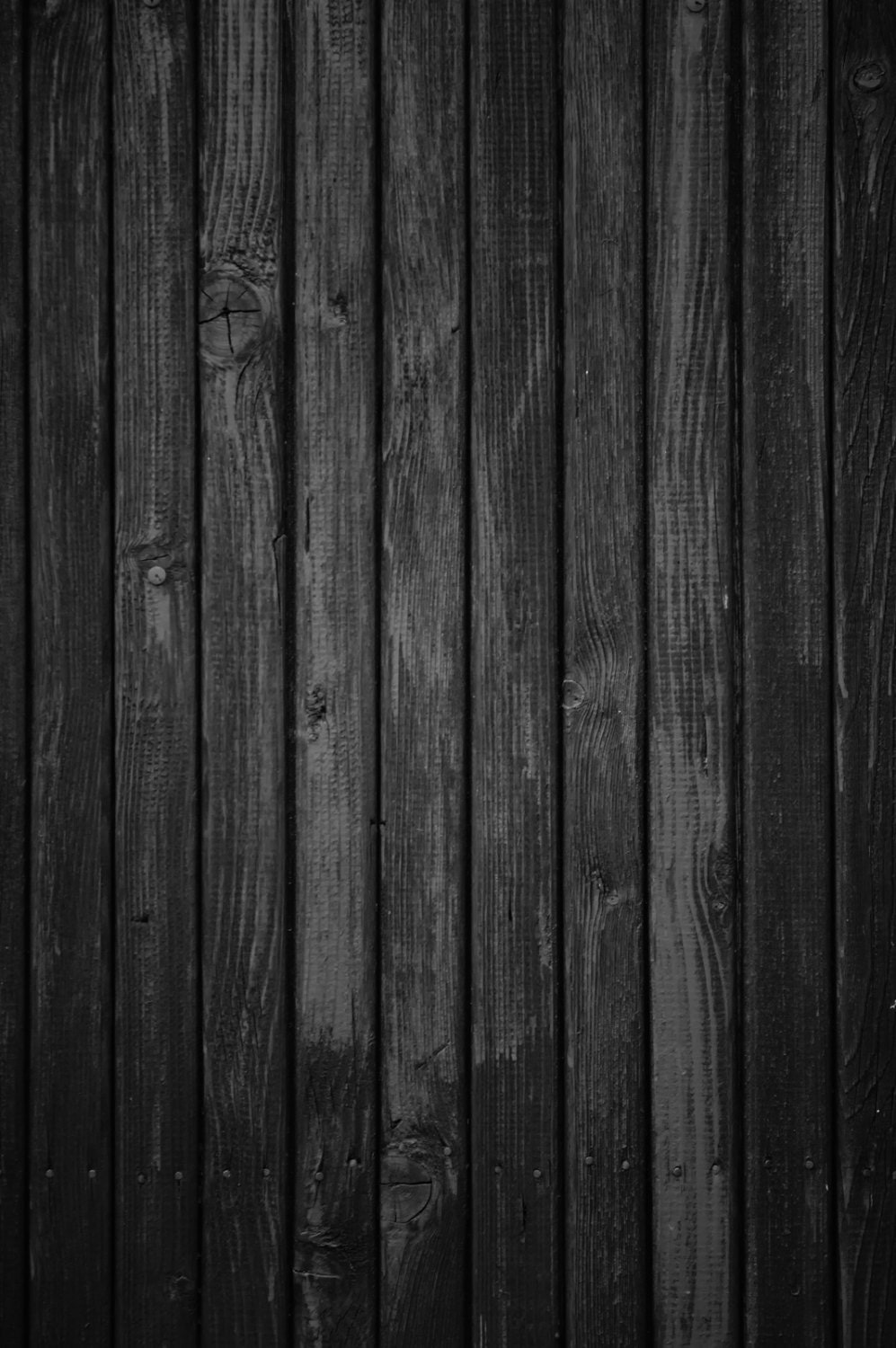 Black Wood Planks ~ Black wood backdrop weathered dark planks floor printed