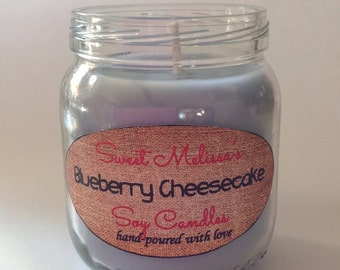 Blueberry Cheesecake Soy Candle