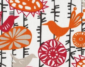 Rod-Pocket Curtain Panels Menagerie Sherbet