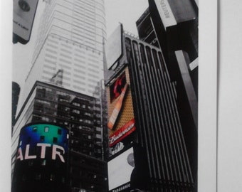 New York themed photographic greeting card A6