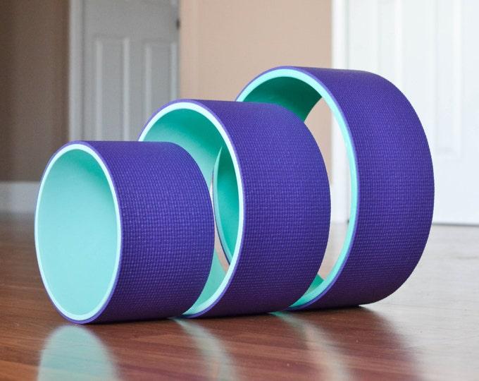 "Yoga Wheel Set- 8"", 10"", 12"" (Purple)"