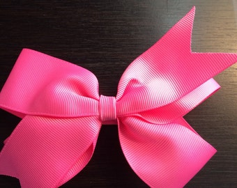 Hot Pink Boutique Bow