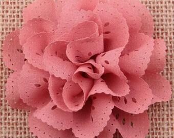 Dusty Rose Pink Ehelet Hair Clip